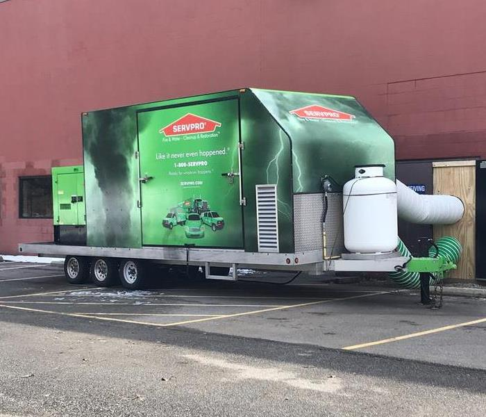 Commercial Big or Small, SERVPRO of South Euclid Handles it All